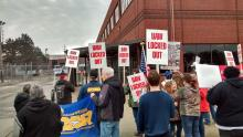 UAW 5 South Bend Rally At Honeywell